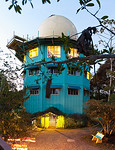 Some Scenes around Canopy Towers/Lodge : Canopy Tower - Once a military radar installation, now a world class birding destination.